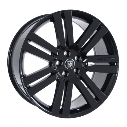 22 Marcellino Cambridge Gloss Black Wheels Rims