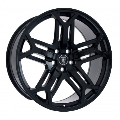 22 Marcellino Yorkshire Gloss Black Wheels Rims