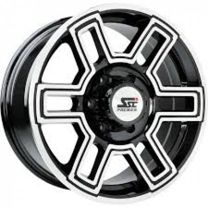 20 x 9 ET+30 276B in Gloss Black Machined Face