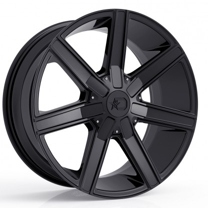 20 x 9 ET+18 650B in Gloss Black