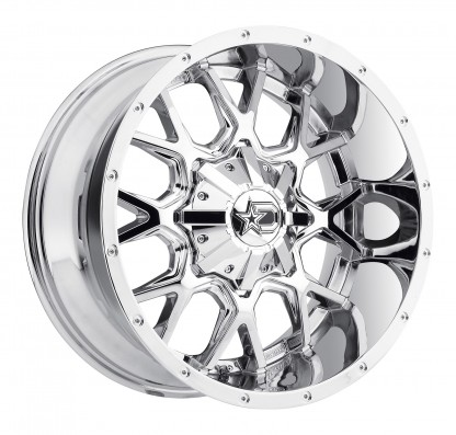 18 x 9 ET+18 645V in Chrome PVD