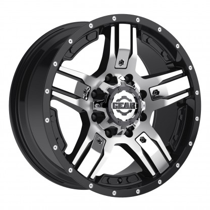 17 x 9 ET+18 740MB MANIFOLD in Gloss Black Machined Face