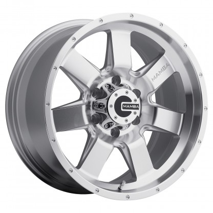 18 x 9 ET+25 586S M14 in Silver Machined Face