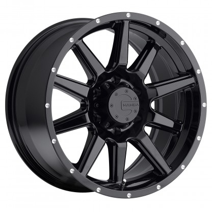 18 x 9 ET+25 587B M15 in Gloss Black