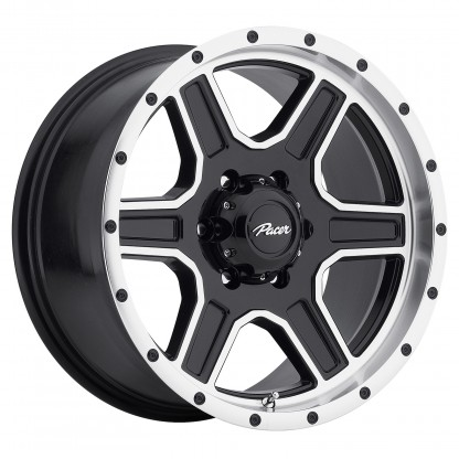 17 x 9 ET+25 165MB Navigator in Gloss Black Machined Milled