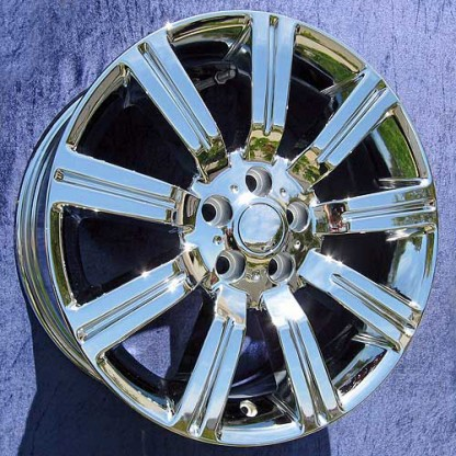20 x 9.5 Range Rover Sport Supercharged Stormer in Chrome
