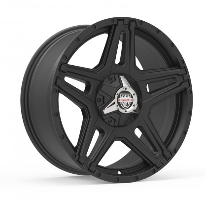 20 x 9 ET+30 834SB ST-1 in Matte Black