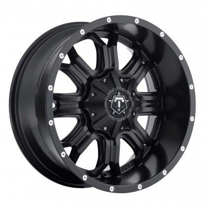 18 x 9 ET+18 535B in Matte Black