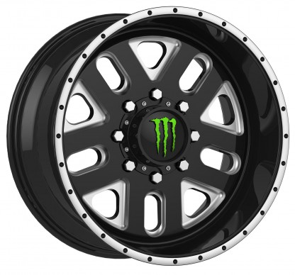 20 x 9 ET+18 539BMin Gloss Black Machined Milled
