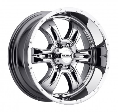 18 x 9 ET+18 249V PREDATOR II in Chrome