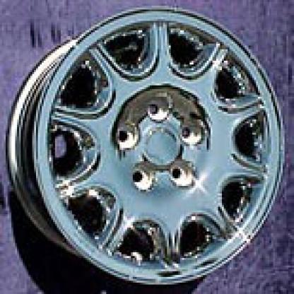 16 Jaguar XJ8 Starburst Chrome Wheel
