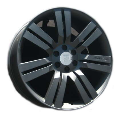 24 Marcellino Concept Matte Black Wheels Rims