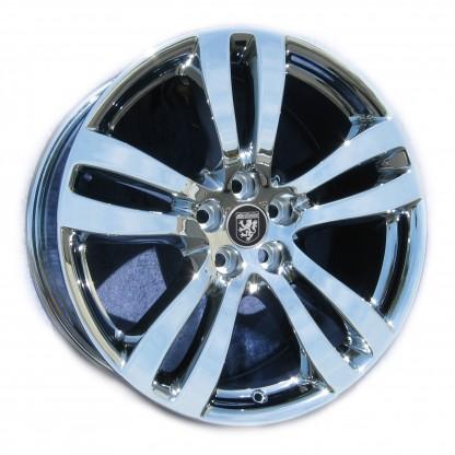 19 x 10 Jaguar XJ Toba rear 59874 In Chrome