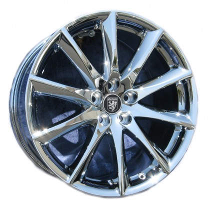 19 Jaguar XJ Aleutian Chrome Wheel
