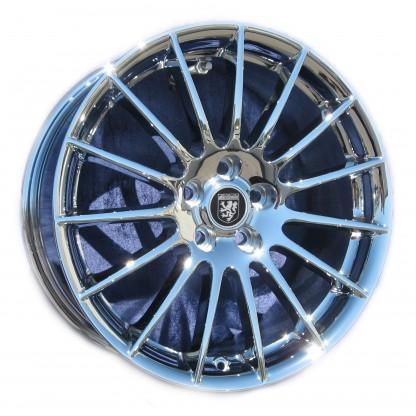 18 Jaguar XJ8 Tucana Chrome Wheel