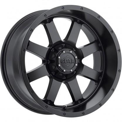 17 x 9 ET+18 726BM BIG BLOCK in Matte Black