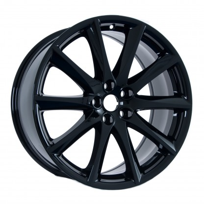 19 Jaguar XJ Aleutian Gloss Black Wheels