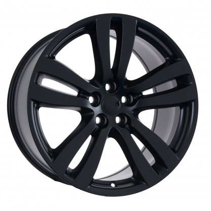 19 Jaguar XJ Toba Gloss Black Wheels