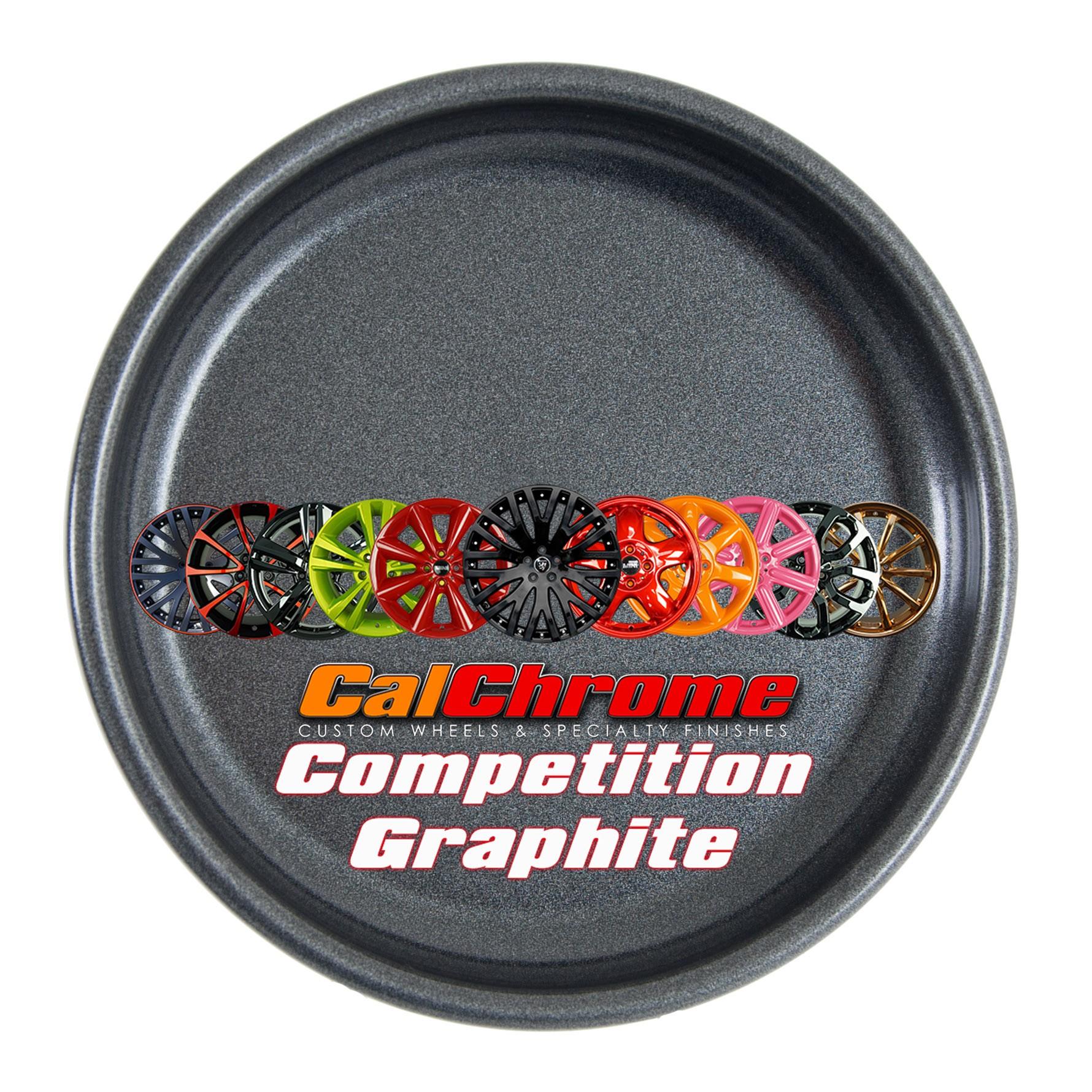 Competition Graphite Fusion Powder Coat Wheels Rims