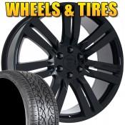24 Marcellino Concept Gloss Black Wheels Rims