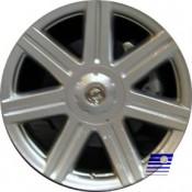 19 x 9 Chrysler Crossfire rear 2230 In Chrome