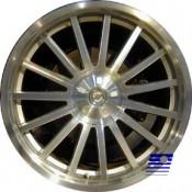 19 x 9 Chrysler Crossfire SRT6 rear 2250 In Chrome