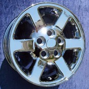 16 x 7 Land Rover Discovery Style 3 in Chrome