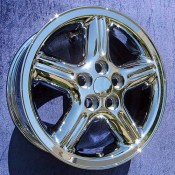 18 x 8 Land Rover Proline in Chrome