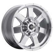 17 x 9 ET+25 586S M14 in Silver Machined Face