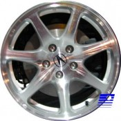 17 x 8.5 Acura NSX forged rear 71662 In Chrome