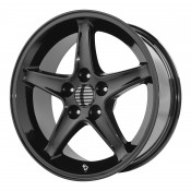 17 x 9 ET+24 PR102 in Gloss Black