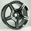 Black Chrome Wheel Merceds Benz SL500 AMG