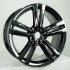Black Chrome Wheel Volkswagen VW Passat