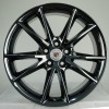 Black Chrome Wheel Cadillac XTS