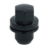 Set of 20 - 14 x 1.5 Mag Lug Nut Gloss Black - Fits Land Rover