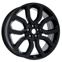 "22"" Range Rover Sport OEM LRX Style 504 in Gloss Black (set of 4)"