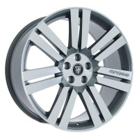 "22"" Cambridge Gunmetal Machined Face - Fits Land Rover"