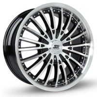 20 x 9 ET+30 291B in Gloss Black Machined Face