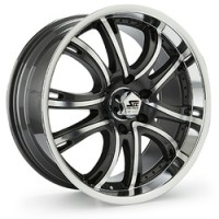 18 x 8.5 ET+30 292A in Gunmetal Machined Face
