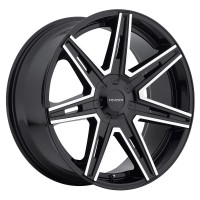 22 x 9.5 ET+25 918MB PARADIGM in Gloss Black Machined Milled
