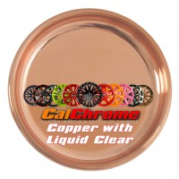 Copper Plated with Liquid Clear