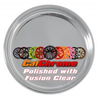 Polished with Fusion Coat Clear