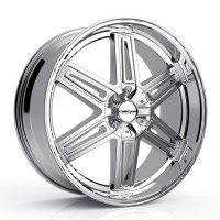 22 x 9.5 ET+25 920C ICONIC in Chrome