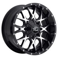 20 x 9 ET+18 645MB in Gloss Black Machined Face