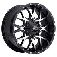 18 x 9 ET+18 645MB in Gloss Black Machined Face