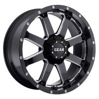 18 x 9 ET+18 726MB Big Block in Gloss Black Machined Milled