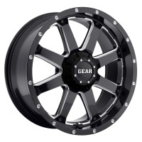 20 x 9 ET+18 726MB BIG BLOCK in Gloss Black Machined Milled