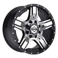 20 x 9 ET+18 740MB MANIFOLD in Gloss Black Machined Face