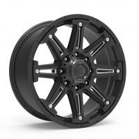 20 x 9 ET+18 741BM MECHANIC in Gloss Black Machined Milled
