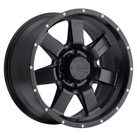17 x 9 ET+25 586B M14 in Matte Black